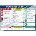 consignes de sécurité et d urgence