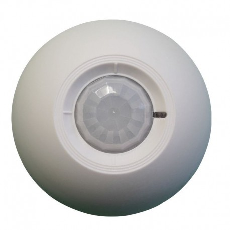 Détecteur de mouvement infrarouge 360° plafond