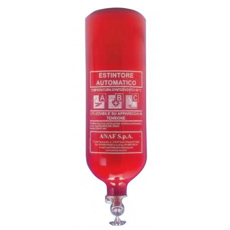 Extincteur poudre ABC pression permanente 1kg
